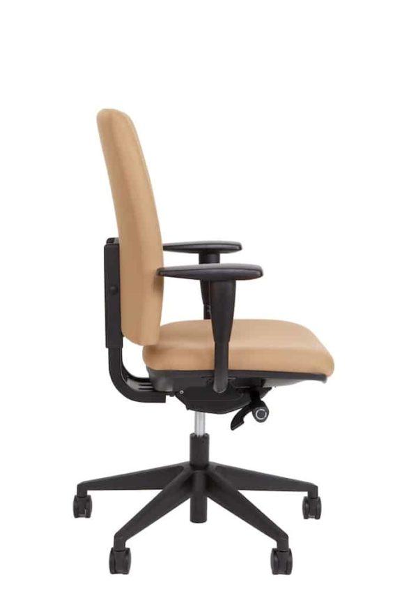 Ergonomische bureaustoel A680 met EN-1335 normering beige stof