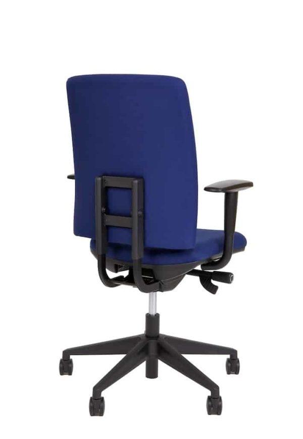 Ergonomische bureaustoel A680 met EN-1335 normering blauwe stof