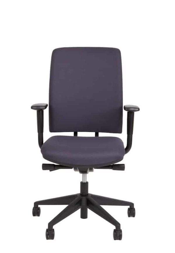 Ergonomische bureaustoel A680 met EN-1335 normering grijze stof