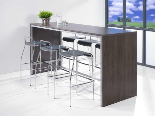 Hoge tafel: Statafel of bartafel 140x80cm