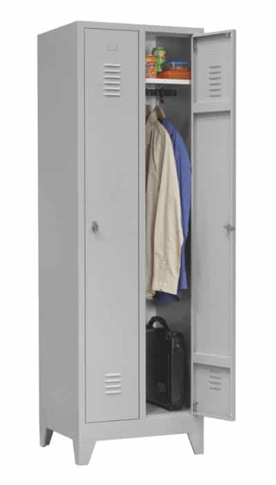 Industriële locker garderobekast 2- delig