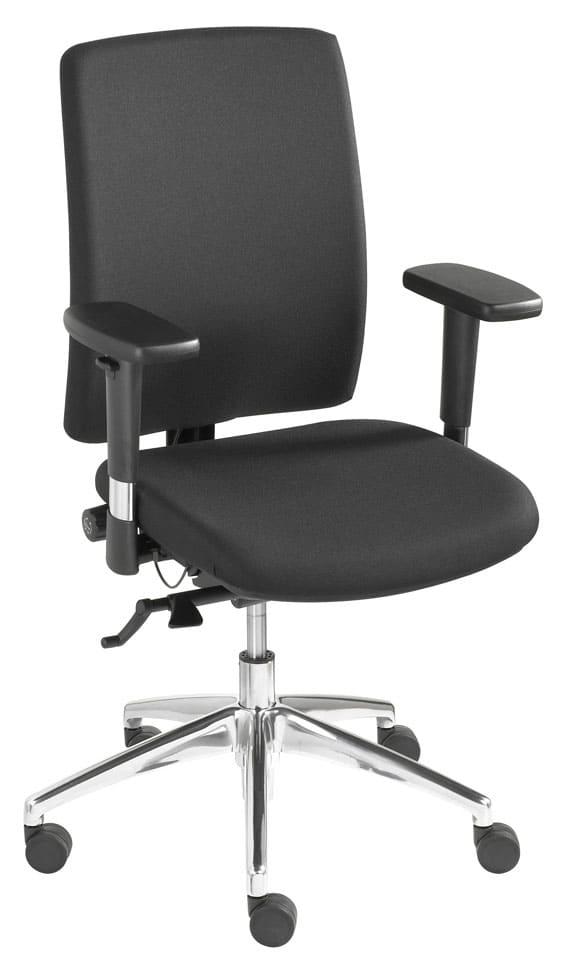 Ergonomische bureaustoel 1414 zwart NPR 1813