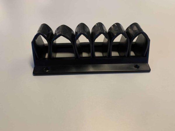 Kabellussen, set van 3 stuks zwart