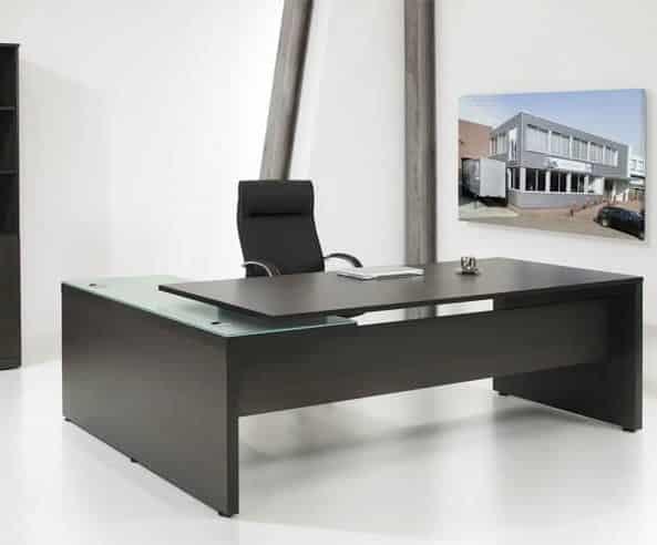 Directiebureau model hoekbureau Chief 230x172cm