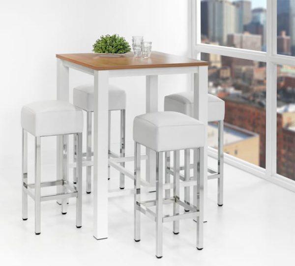 Hoge tafel: Statafel of bartafel 80x80cm