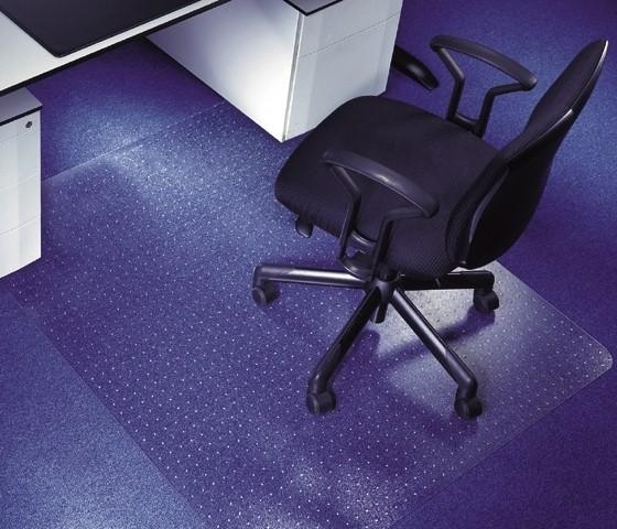 Vloermat bureaustoel voor zachte vloeren
