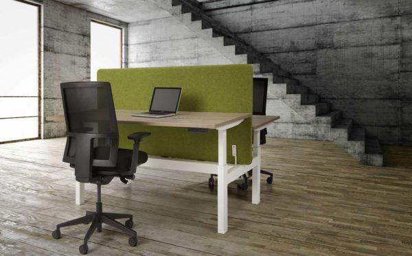 Duo bench elektrisch verstelbaar zit/sta bureau Teez