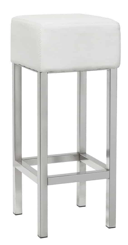 Barkruk Design met chrome frame
