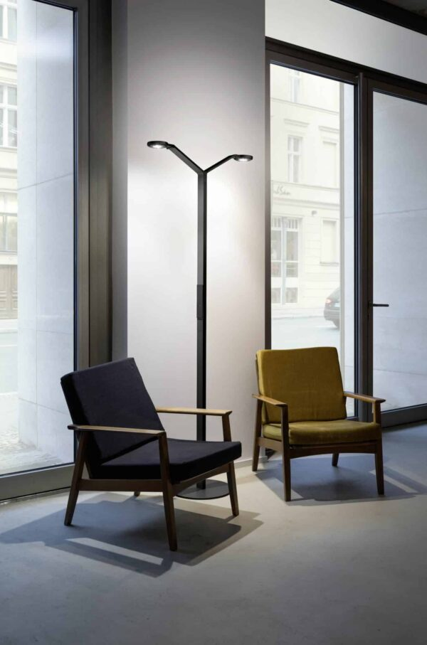 Vloerlamp Luctra Radial | Floor Twin