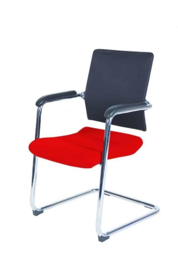 Conferentiestoel serie 045 Rood